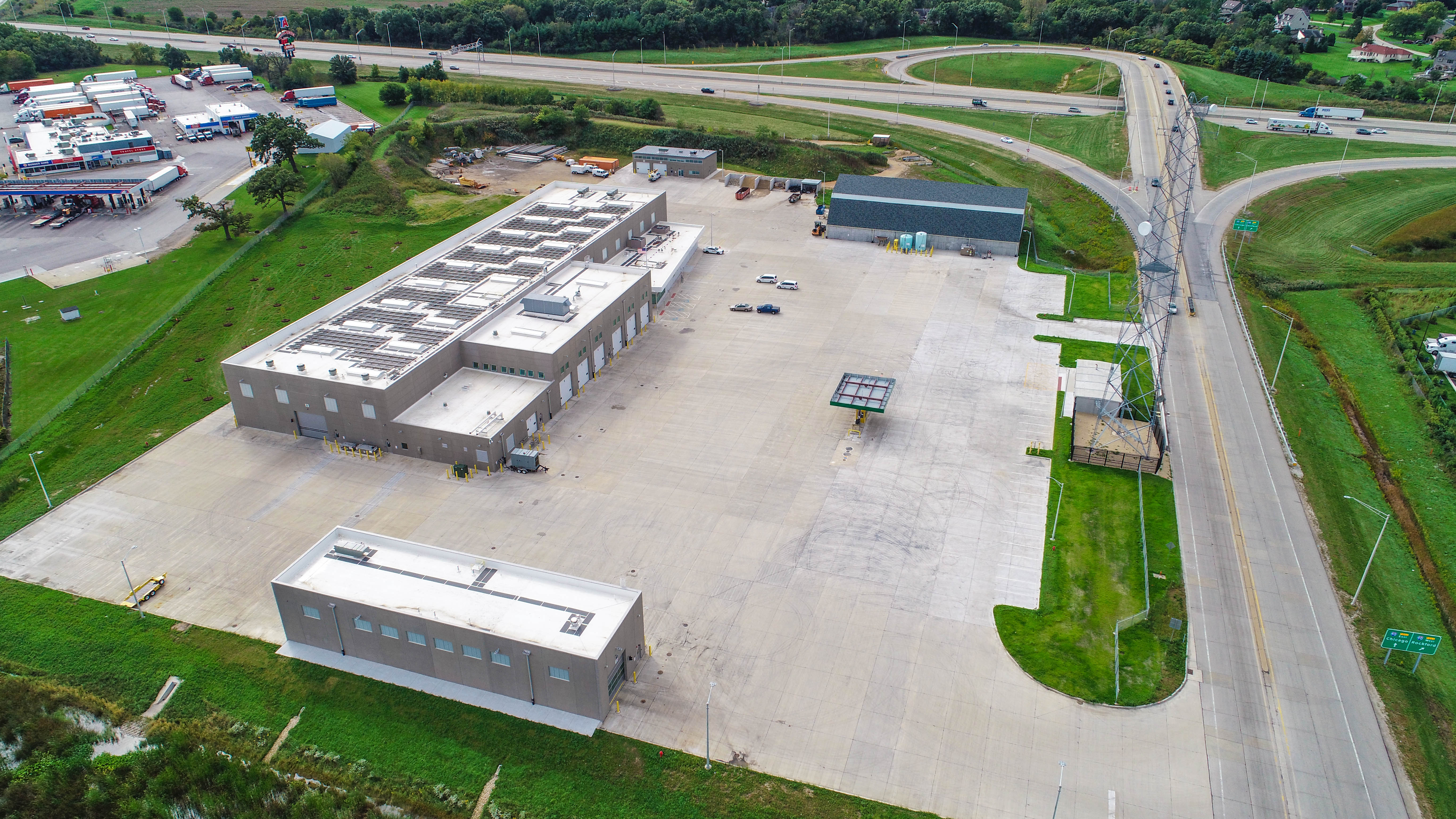 Illinois Tollway M6 Maintenance Facility