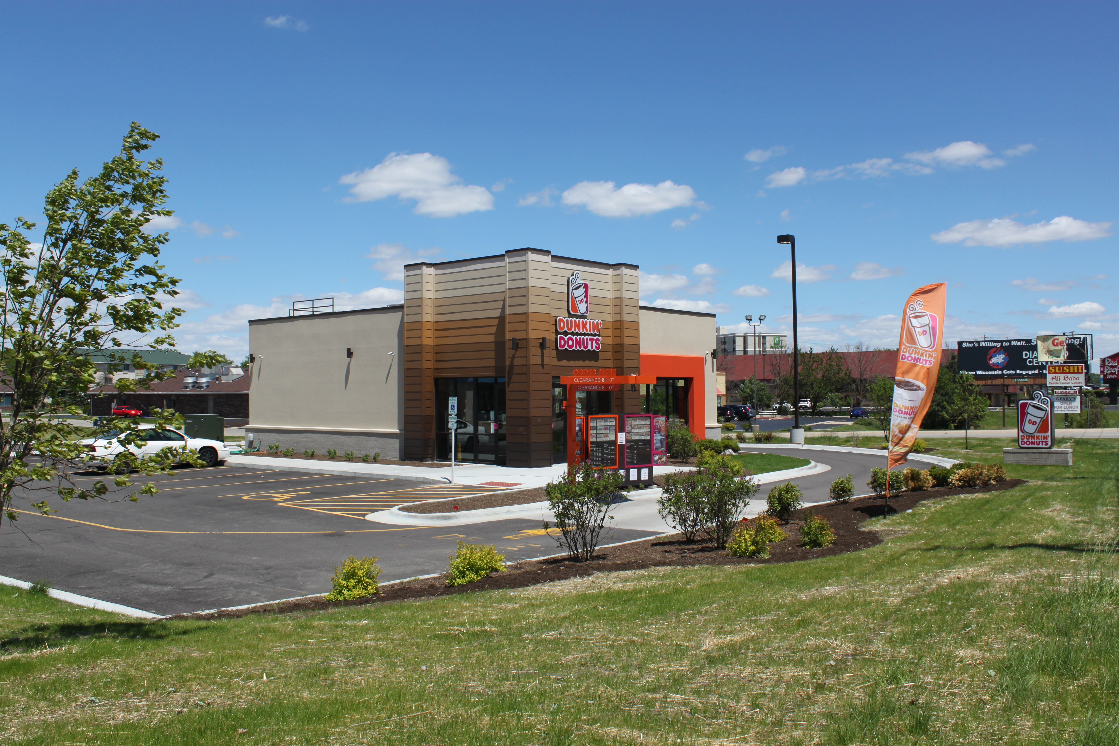Commercial Parking: Dunkin Donuts